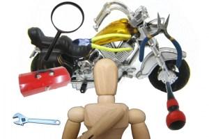 バイク整備のイメージ