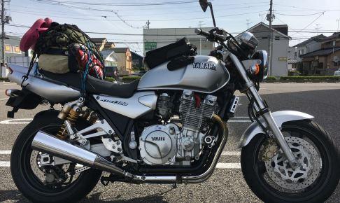 バイクの積載例