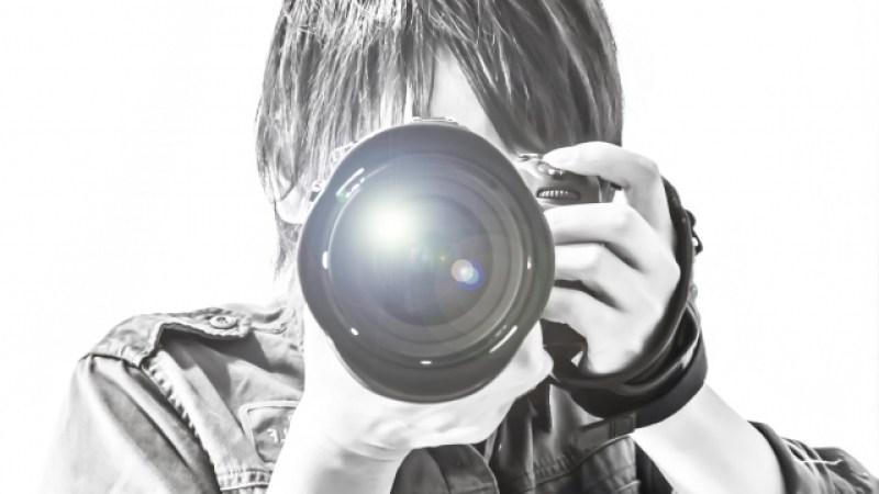 写真を撮るイメージ