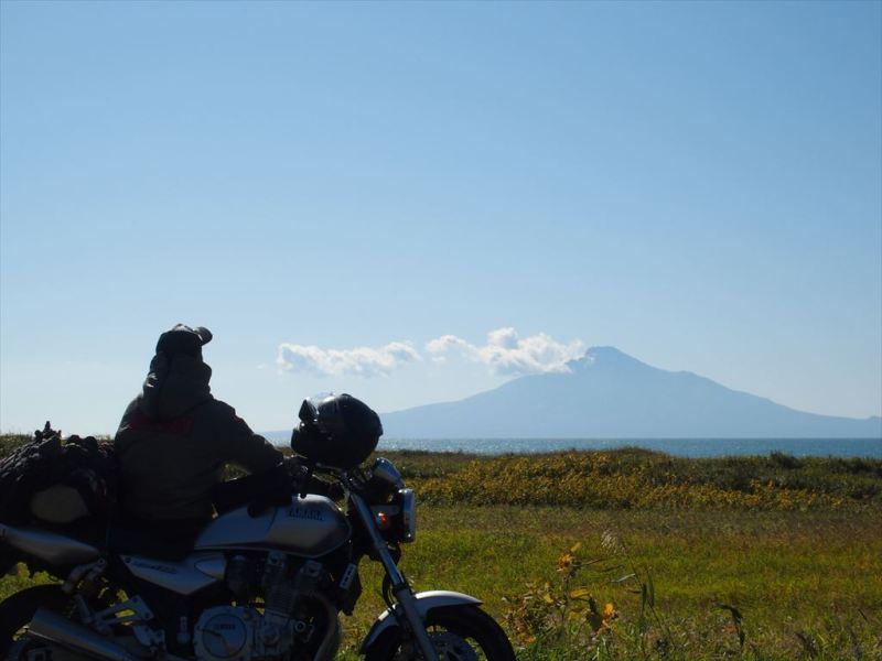 バイク旅の写真(北海道)