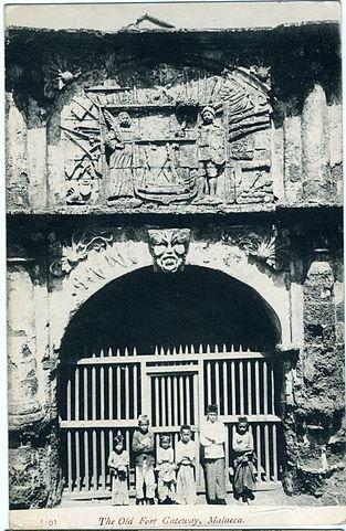 mallaca fort gate