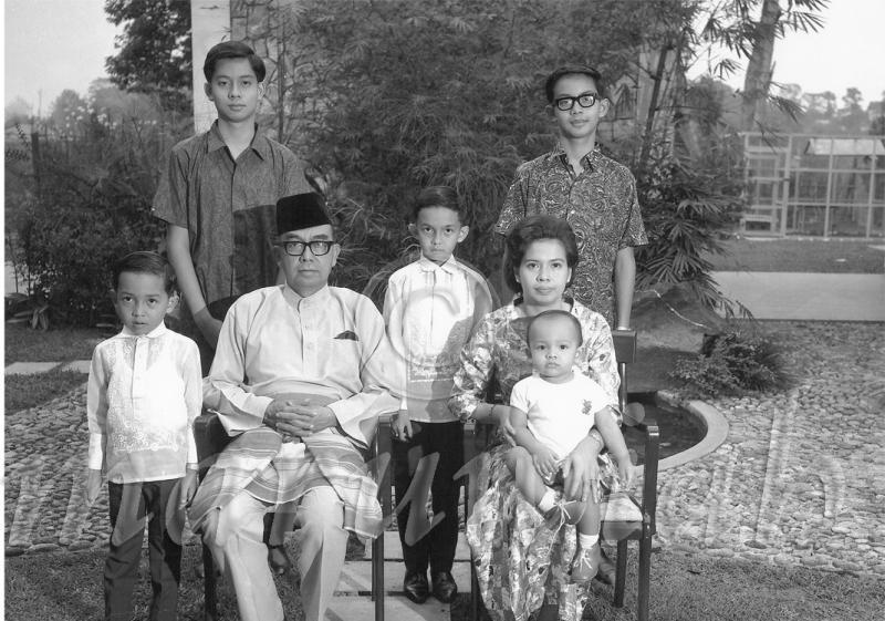 Tun Abdul Razak Family