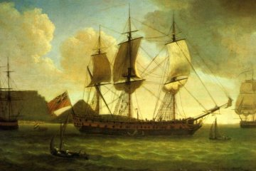 English_ships_in_Table_Bay_1787