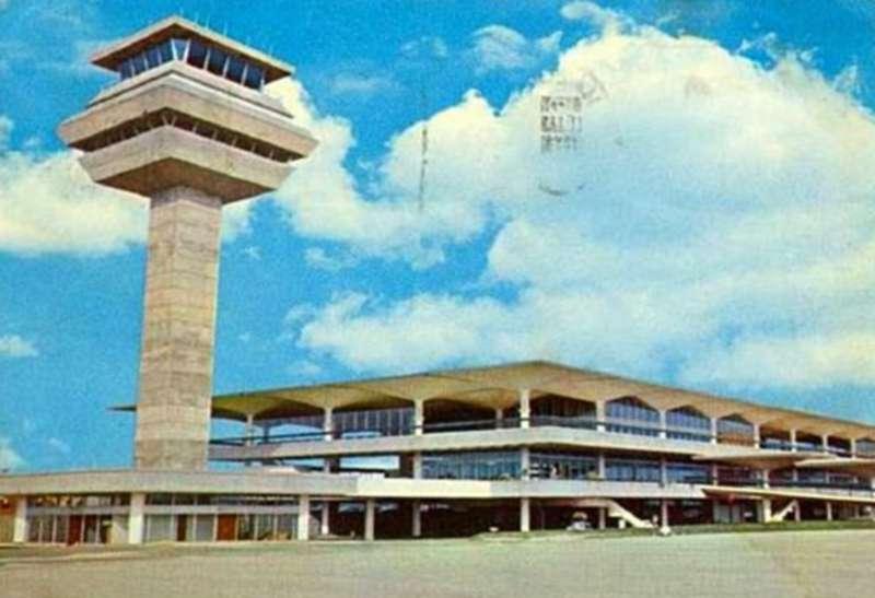 subang airport poscard