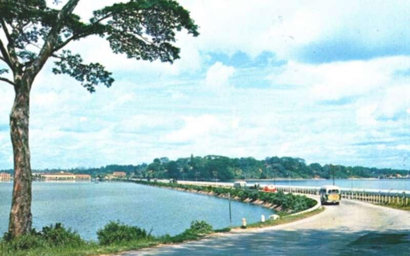 Tambak Johor sekitar 1955