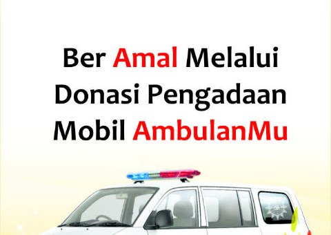 PROGRAM WAKAF DONASI PENGADAAN AMBULANMU