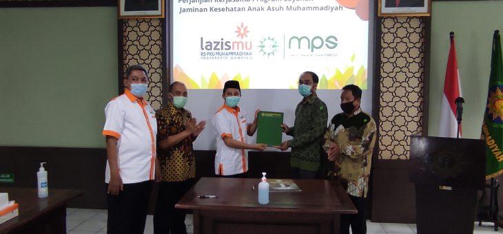 Penandatanganan Kerjasama JAMKESA MPS PWM DIY-KL Lazismu RS PKU Muhammadiyah Yogyakarta dan Gamping 