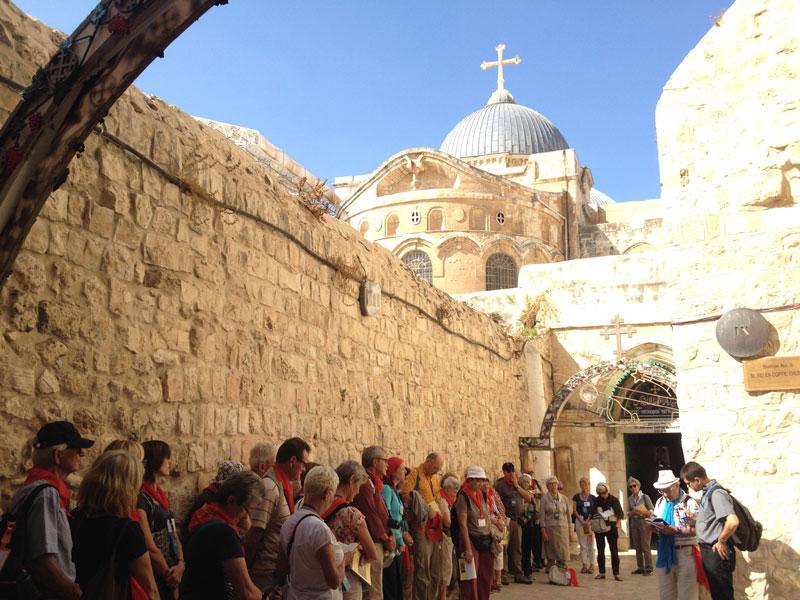 Pèlerinage en Terre Sainte – Début 2016