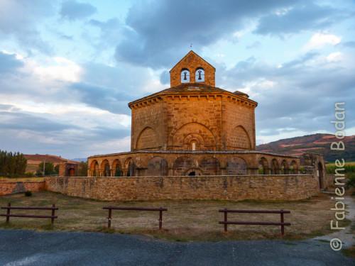 église Santa Maria de Eunate, camino aragnonés