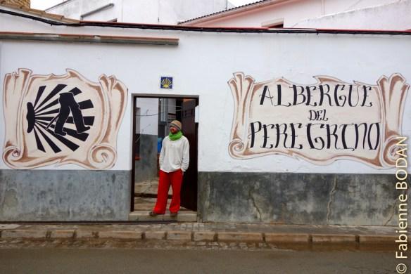 L'albergue de Peregrinos d'Almaden de la Plata offre l'intimité d'une auberge de petite taille. Jorge l'hospitalero nous a accueilli avec coeur et compassion © Fabienne Bodan