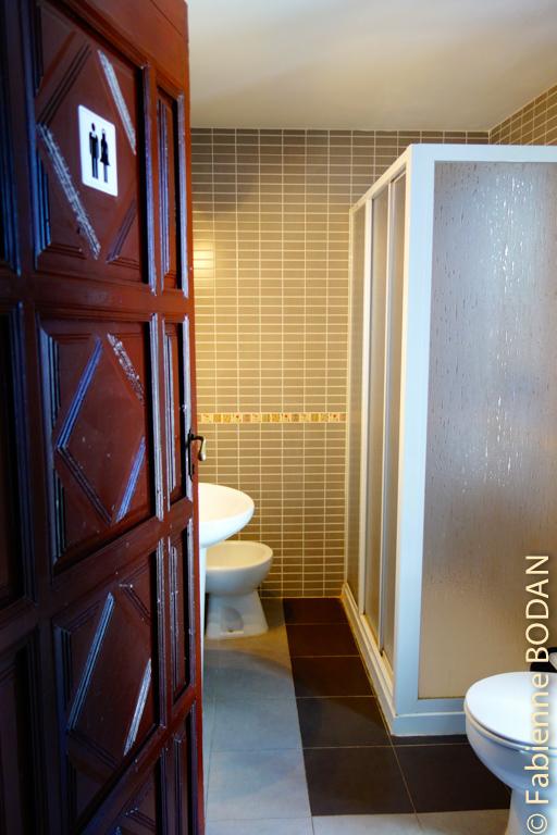 A notre étage, deux salles de bains. © Fabienne Bodan