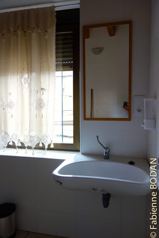 La salle de bains des dames. © Fabienne Bodan