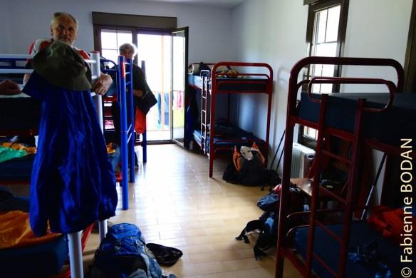 A l'étage, le dortoir principal et la salle de bains...© Fabienne Bodan