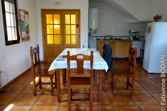 La cuisine-salle à manger, au rez-de-chaussée...© Fabienne Bodan