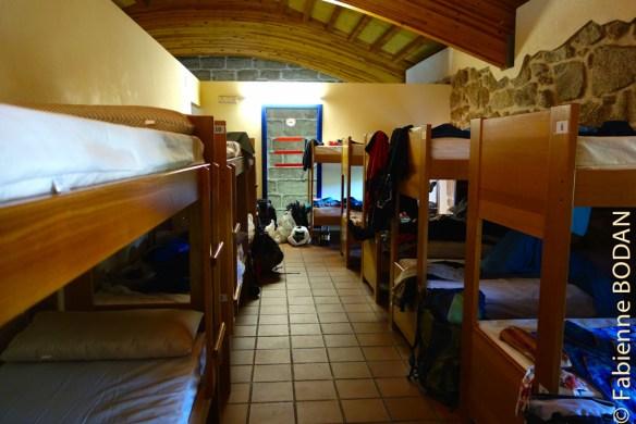 A l'étage, deux grands dortoirs...© Fabienne Bodan