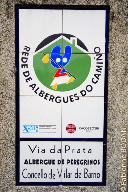 A Vilar de Barrio, l'auberge, récemment rénovée, paraît comme neuve...© Fabienne Bodan