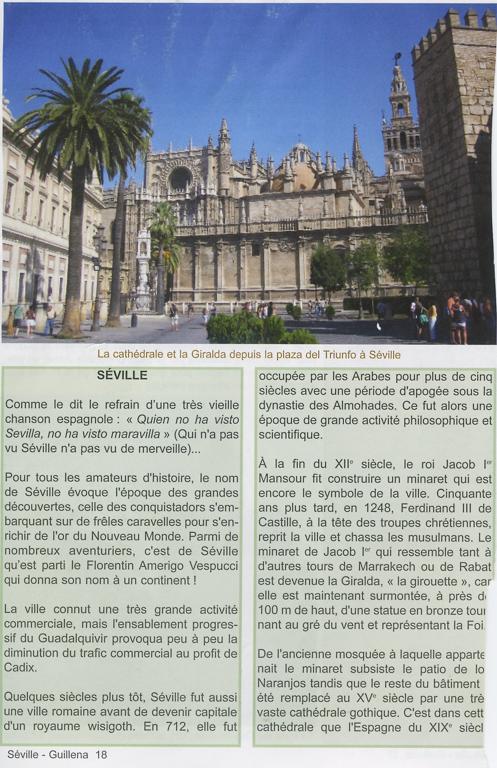 """Guide Lepère """"Sur le chemin de Saint Jacques de Compostelle, La Via de la Plata et le camino sanabrés"""", Edition ? (3), exemple de présentation d'une étape (quatrième page)."""