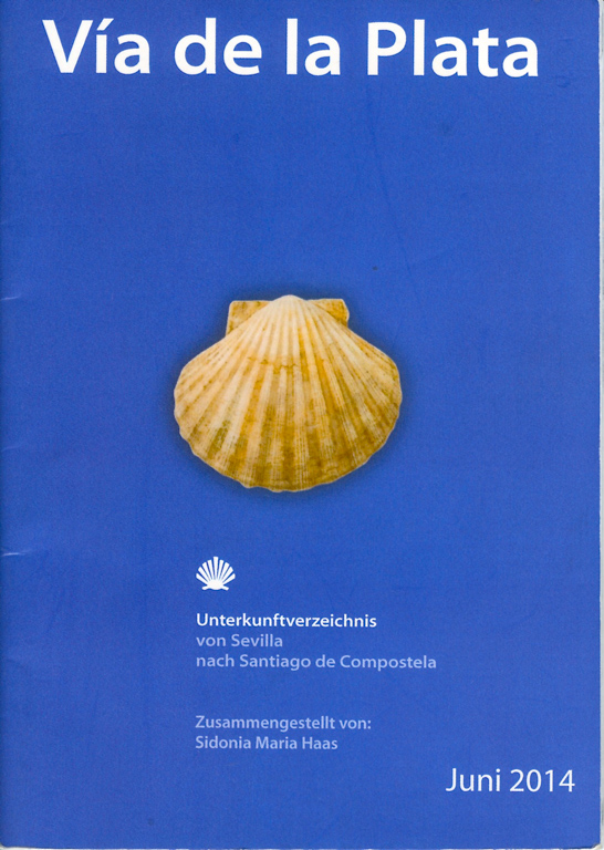 Couverture du Guide (en allemand) de l'association Paderborn sur la Via de la Plata