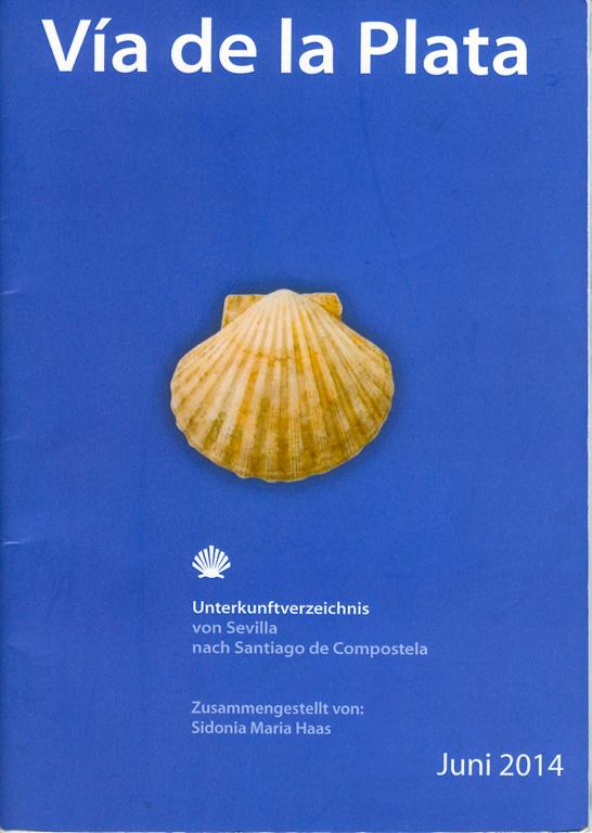Couverture du Guide (en allemand) de l'association Paderborn sur la Via de la Plata
