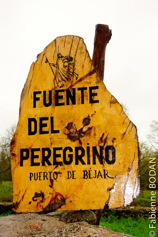 """Comme son nom l'indique...une """"fontaine du pèlerin"""". © Fabienne Bodan"""