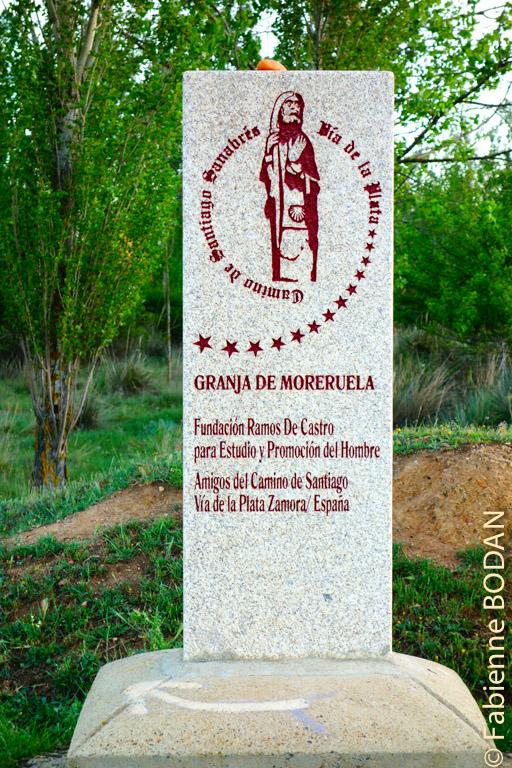 A partir de ce jour, nous voici engagés sur le Camino Sanabrés. On peut également rejoindre Braga au Portugal en empruntant une bifurcation après Granja de Moreruela. © Fabienne Bodan