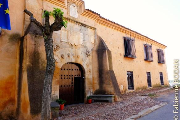 Le palacio de las Lastras sera notre gîte du XVIe siècle pour la nuit. © Fabienne Bodan