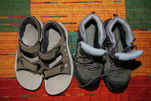 Chaussures pour Compostelle