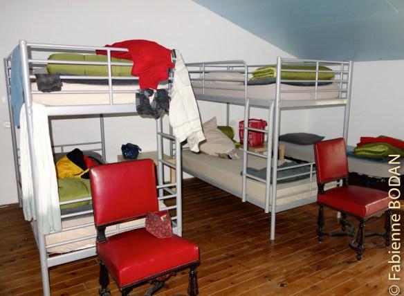 Le dortoir est à l'étage...© Fabienne Bodan