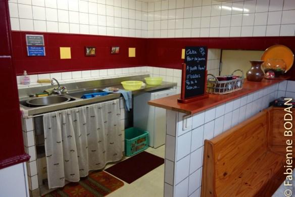 L'espace eau et froid de la cuisine...© Fabienne Bodan