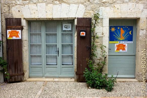 Idéalement situé, il présente l'avantage d'un tout petit gîte...© Fabienne Bodan