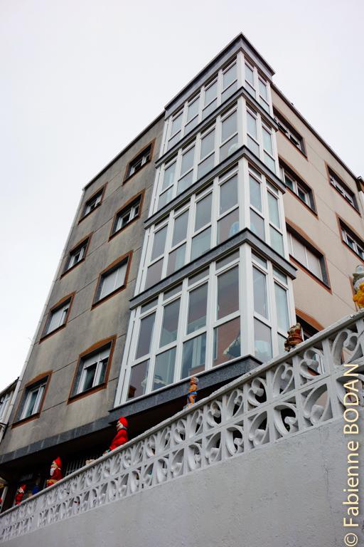 Un immeuble pour loger 40 personnes © Fabienne Bodan