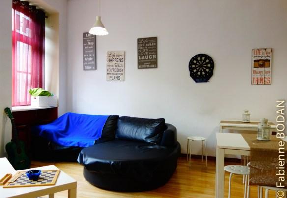 A côté de l'espace cuisine, une salle à manger et un salon...© Fabienne Bodan