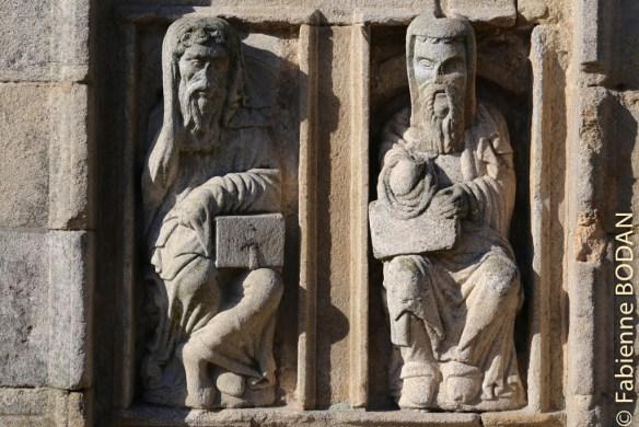 Cette année sainte verra-t'elle grandir l'affluence des pèlerins vers la capitale galicienne ? © Fabienne Bodan