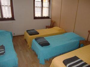 Un dortoir du gîte de Baziège, © Site de l'Association « Les Amis des Chemins de Saint Jacques en Occitanie »