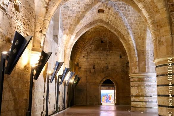 A Saint-Jean d'Acre (Akko), en Israël, les vestiges de la ville des Croisés, qui datent de 1104 à 1291, sont pratiquement intacts...© Fabienne Bodan