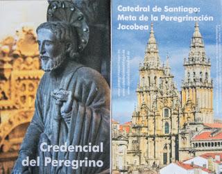 """La crédentiale """"officielle"""" de la cathédrale de Saint-Jacques de Compostelle"""