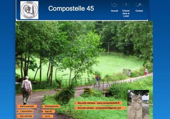 Association Compostelle 45