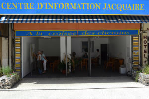 Le centre d'information jacquaire de Lourdes. Source : site internet de l'association.