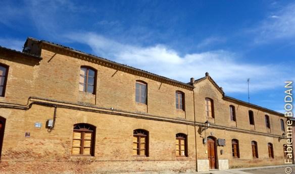 L'albergue municipal de Cuenca de Campos © Fabienne Bodan