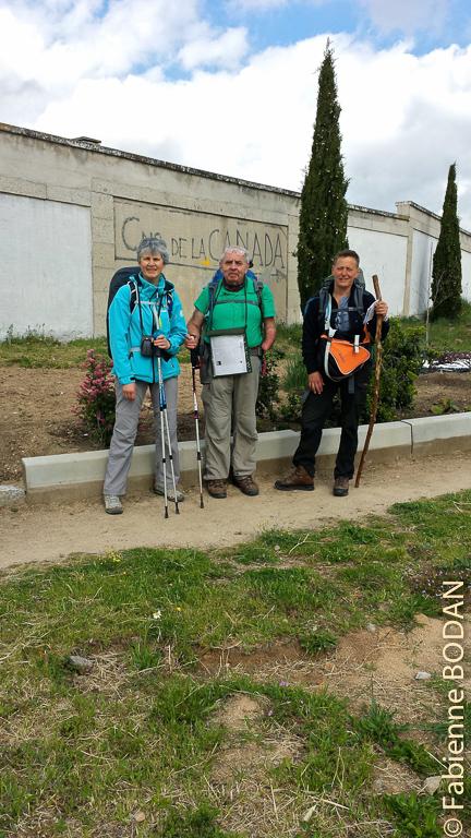 """Camino de Madrid, étape N°2, au départ de Fuencarral, le """"Camino de Canada"""" © Fabienne Bodan"""