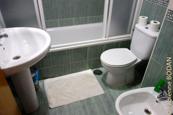 El Gran Chiscon, salle de bain privative avec baignoire © Fabienne Bodan