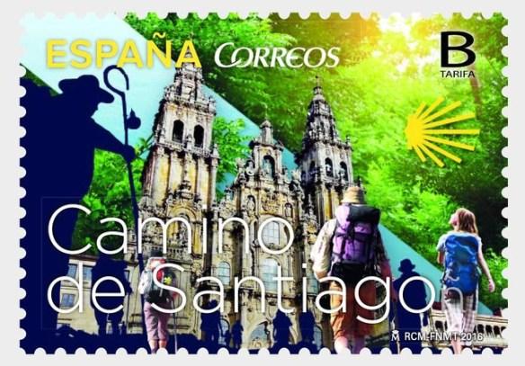 Nouveau timbre émis par la Poste Espagnole le 25 avril 2016