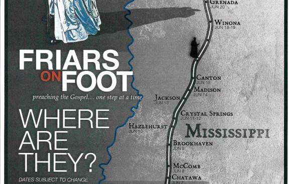 Le projet Friars on Foot de deux frères dominicains aux Etats-Unis, de la Nouvelle-Orléans à Memphis.