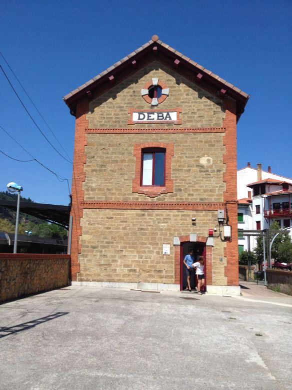 Albergue de Deba, dans une ancienne gare, Camino del Norte © Marie Carpentier