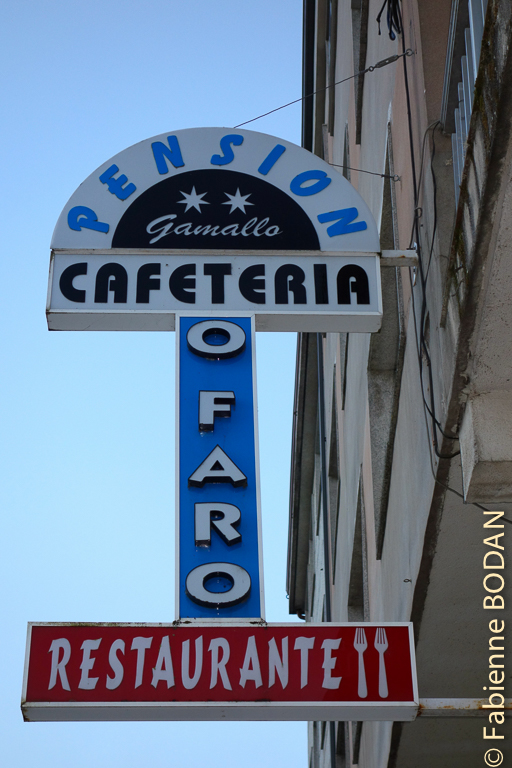 Hostal/Restaurante Gamallo à Chantada, Camino del Invierno / Chemin de l'hiver © Fabienne Bodan