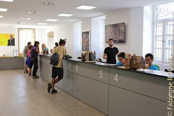 Le nouveau centre d'accueil international des pèlerins de Saint-Jacques de Compostelle © Fabienne Bodan