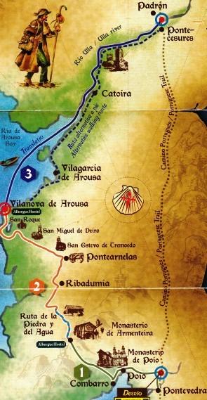 Variante spirituelle du chemin portugais