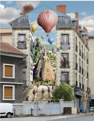 Une deuxième fresque murale en projet au Puy-en-Velay