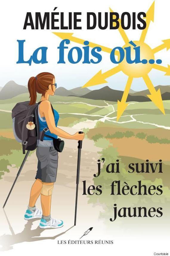 """Couverture du livre """"La fois où j'ai suivi les flèches jaunes"""", de Amélie Dubois, aux éditions """"Les Editeurs réunis"""""""