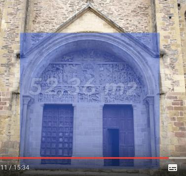 Abbatiale Sainte-Foi de Conques, architecture sacrée